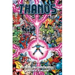 100% Marvel HC. Thanos: El...