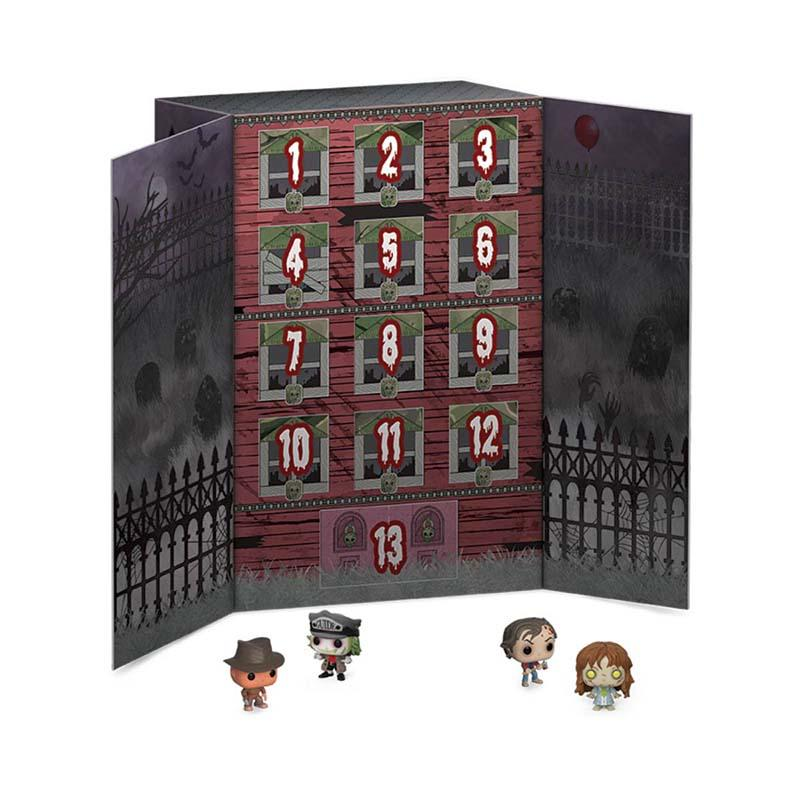 Interior calendario 13 Pocket POP temática terror