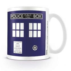 Doctor Who Taza Tardis