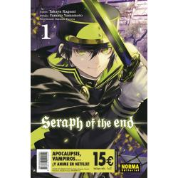 Pack iniciación Seraph of the End 1 y 2