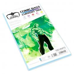 Ultimate Guard Comic Bags Bolsas con cierre reutilizable de Comics Current Size