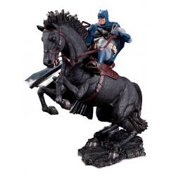 The Dark Knight Returns Estatua Mini Battle A Call To Arms 20 cm