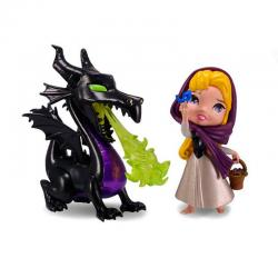 Disney Pack de 2 Metalfigs Figuras Diecast Maleficent & Briar Rose 10 cm