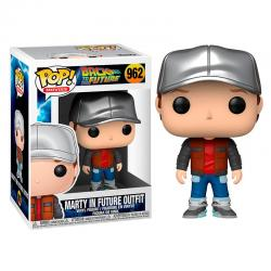 Funko Pop! Movies: Back To The Future 962 Marty in Future Outfit