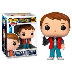 Funko Pop! Movies: Back To The Future 961 Marty in Puffy Vest