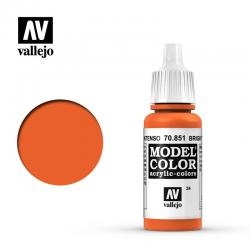 Vallejo Model Color 70.851 - Naranja Intenso 17 ml.