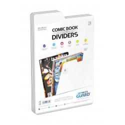 Ultimate Guard Premium Comic Book Dividers Separadores para Cómics Blanco